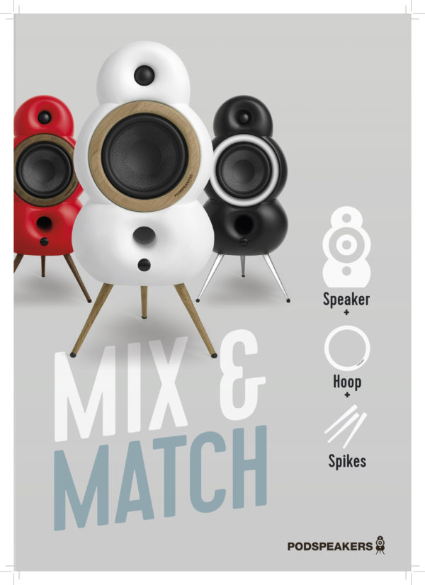 Podspeaker MiniPods - Mix & Match