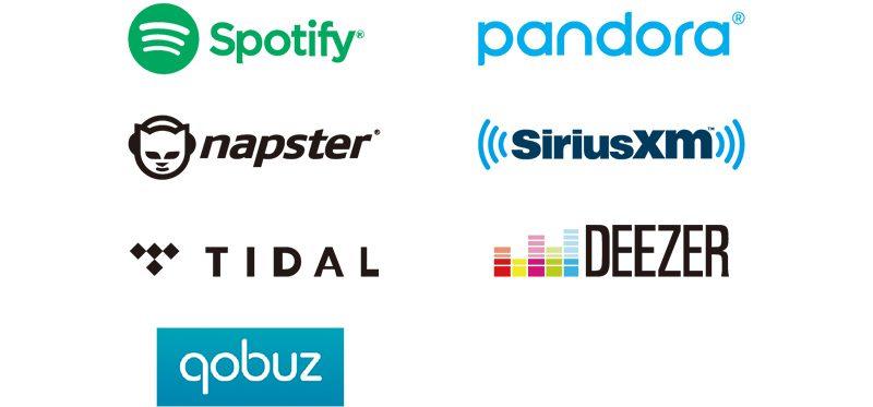 Yamaha Streaming Dienste für MusicCast