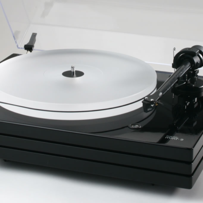 Music Hall - mmf 9.1 Schallplattenspieler, aus unserer Ausstellung (schwarz)