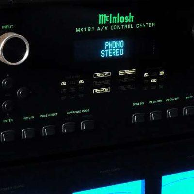 McIntosh MX 121 A/V - AV-Receiver