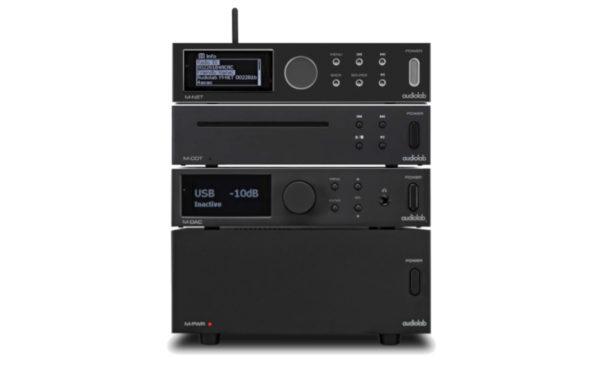 Audiolab Bundle bestehend aus M-Dac, M-PWR, M-Net und M-CDT