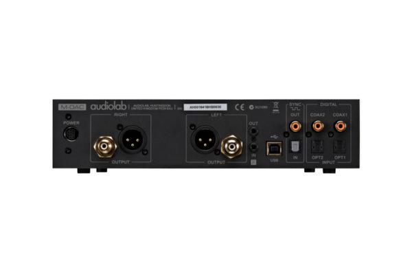 Audiolab M-DAC - Anschlüsse (Abbildung ähnlich)