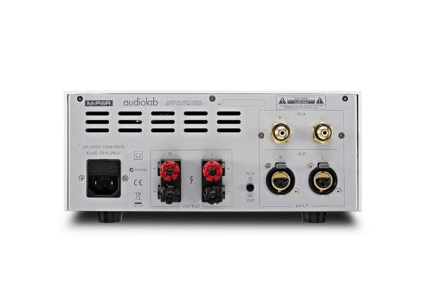 Audiolab M-PWR - Anschlüsse (Abbildung ähnlich)