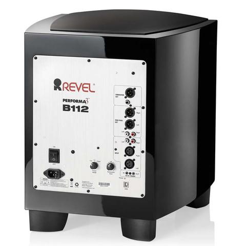 Revel B112 - Subwoofer, Klavierlack schwarz (Abbildung ähnlich)