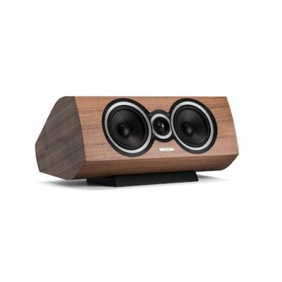Sonus faber Sonetto Center I - Centerlautsprecher, in Walnuss Furnier / Echtholz
