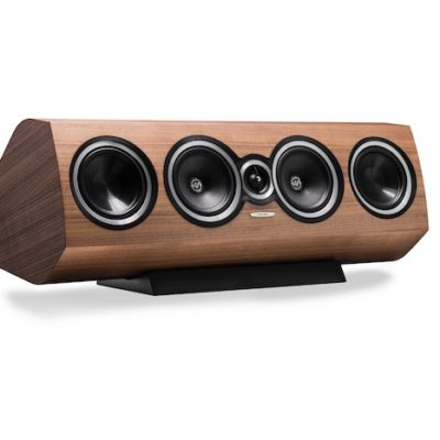 Sonus faber Sonetto Center II - Centerlautsprecher, in Walnuss Furnier / Echtholz
