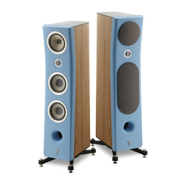 Focal Kanta N°2 - Standlautsprecher in Wood Veneere Gauloise Blue (im Paar)