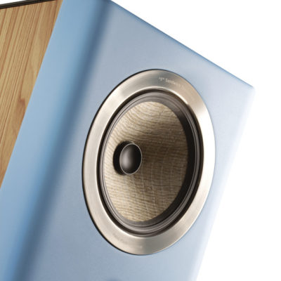 Focal Kanta N°2 - Standlautsprecher in Wood Veneere Gauloise Blue (Detailfotos)