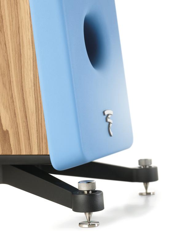 Focal Kanta N°2 - Standlautsprecher in Wood Veneere Gauloise Blue (Detailfotos)