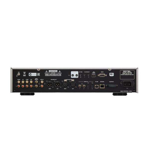 ROTEL RCD-1572 - CD-Player (Rückseite)
