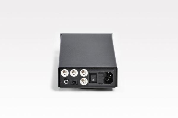 Lehmannaudio Linear D II - Kopfhöhrerverstärker / Vorverstärker (Frontplatte silber)