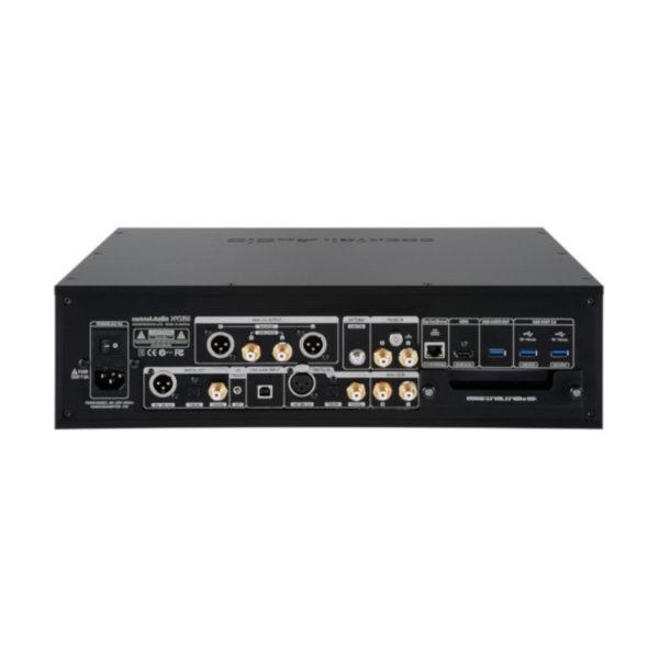 Cocktail Audio X45 Pro - Musikserver (schwarz, Anschlüsse)